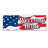 WELCOME HOME SIGN BANNER (12/CS) PARTY SUPPLIES