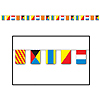 NAUTICAL FLAG BANNER PARTY SUPPLIES