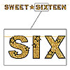 SWEET SIXTEEN AWARDS NIGHT STREAMER PARTY SUPPLIES