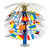 NAUTICAL FLAG CASCADE CENTERPIECE PARTY SUPPLIES