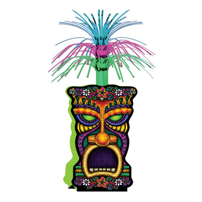 Click for larger picture of TIKI CENTERPIECE PARTY SUPPLIES