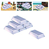 PLASTIC SILVER BAR DECORATIONS PARTY SUPPLIES