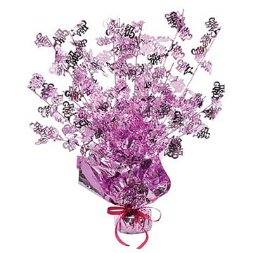 Click for larger picture of IT'S A GIRL GLEAM 'N BURST CENTERPIECE PARTY SUPPLIES