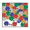 FOOTBALL HELMET CONFETTI PARTY SUPPLIES