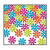 RETRO FLOWERS CONFETTI PARTY SUPPLIES