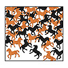 HORSES CONFETTI PARTY SUPPLIES