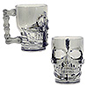 PLASTIC SKULL MUG (12/CS) PARTY SUPPLIES