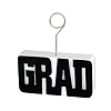 GRAD PHOTO/BALLOON HOLDER BLACK PARTY SUPPLIES