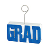 GRAD PHOTO/BALLOON HOLDER BLUE PARTY SUPPLIES