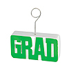 GRAD PHOTO/BALLOON HOLDER GREEN PARTY SUPPLIES
