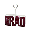 DISCONTINUED GRAD BALLOON HOLDER MAROON PARTY SUPPLIES