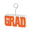 GRAD PHOTO/BALLOON HOLDER ORANGE PARTY SUPPLIES