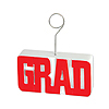 GRAD PHOTO/BALLOON HOLDER RED PARTY SUPPLIES