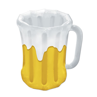 click for larger picture of inflatable beer mug cooler party supplies - Oktoberfest Decorations