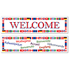 INTERNATIONAL WELCOME BANNERS (12/CS) PARTY SUPPLIES