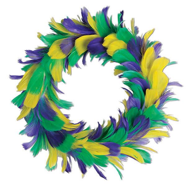 Click for larger picture of FEATHER WREATH 8
