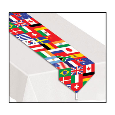 Bulk international party supplies international flag for International party decor