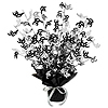 30TH GLEAM 'N BURST CENTERPIECE - BLACK PARTY SUPPLIES
