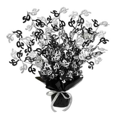 click for larger picture of 50th gleam n burst centerpiece 12cs