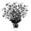 50TH GLEAM 'N BURST CENTERPIECE - BLACK PARTY SUPPLIES