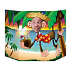 LUAU MONKEY PHOTO PROP PARTY SUPPLIES