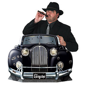Click for larger picture of GANGSTER PHOTO PROP PARTY SUPPLIES