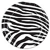 ZEBRA PRINT 9 IN. PLATE (96/CS) PARTY SUPPLIES