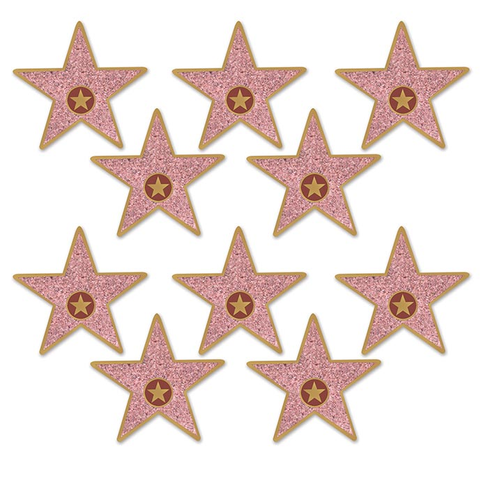 Click for larger picture of MINI STAR CUTOUTS (240/CS) PARTY SUPPLIES