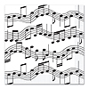 MUSICAL NOTE LUNCHEON NAPKINS PARTY SUPPLIES