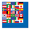 INTERNATIONAL FLAG LUNCH NAPKIN PARTY SUPPLIES