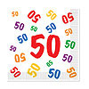 50 LUNCHEON NAPKINS (192/CS) PARTY SUPPLIES