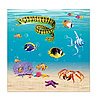 UNDER THE SEA BEVERAGE NAPKINS (192/CS) PARTY SUPPLIES