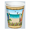 PARADISE BEVERAGE HOT/COLD CUPS (96/CS) PARTY SUPPLIES