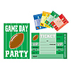 GAME DAY FOOTBALL INVITATIONS PARTY SUPPLIES