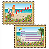 ALOHA INVITATIONS (96/CS) PARTY SUPPLIES