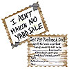 REDNECK INVITATIONS (96/CS) PARTY SUPPLIES