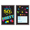 80'S INVITATIONS PARTY SUPPLIES