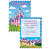 PRINCESS PARTY THANK YOU NOTES (96/CS) PARTY SUPPLIES