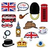 BRITISH PHOTO FUN SIGNS (180/CS) PARTY SUPPLIES
