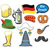 OKTOBERFEST PHOTO FUN SIGNS (144/CS) PARTY SUPPLIES