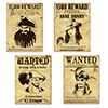 PIRATE WANTED SIGN CUTOUTS (48/CS) PARTY SUPPLIES