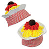 PLUSH SPAGHETTI & MEATBALL HAT (12/CS) PARTY SUPPLIES