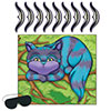 PIN THE SMILE CHESHIRE CAT GAME (24/CS) PARTY SUPPLIES
