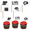 MOVIE SET FLAG PICKS (50/PKG) PARTY SUPPLIES
