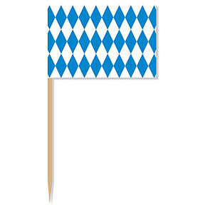 Click for larger picture of OKTOBERFEST PICKS PARTY SUPPLIES