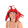 PLUSH CRAB HAT PARTY SUPPLIES
