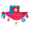 PLUSH FLOWER POWER HAT PARTY SUPPLIES