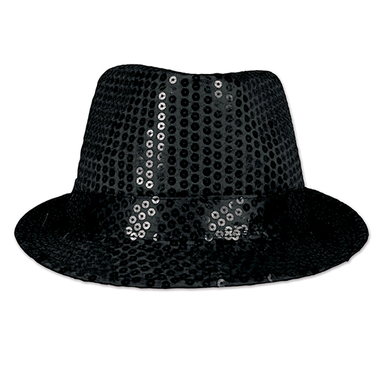 GLITZ 'N GLEAM FEDORA (6/CS) PARTY SUPPLIES