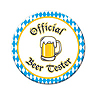 OFFICIAL BEER TESTER BUTTON PARTY SUPPLIES