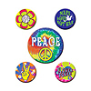 60'S PARTY BUTTONS (60/CS) PARTY SUPPLIES